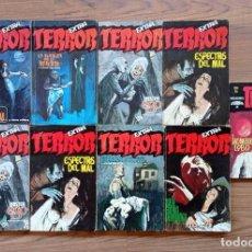 Cómics: RUMEU TERROR EXTRA SELECCIÓN TERROR Y GEMINIS LOTE 9 NOVELAS-BOLSILIBROS-PULP. Lote 278567613