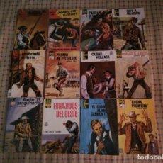 Comics : LOTE DOCE NOVELAS OESTE EDITORIAL BRUGUERA ! ORLAND GARR ! DE 126 PAGINAS !. Lote 283048828