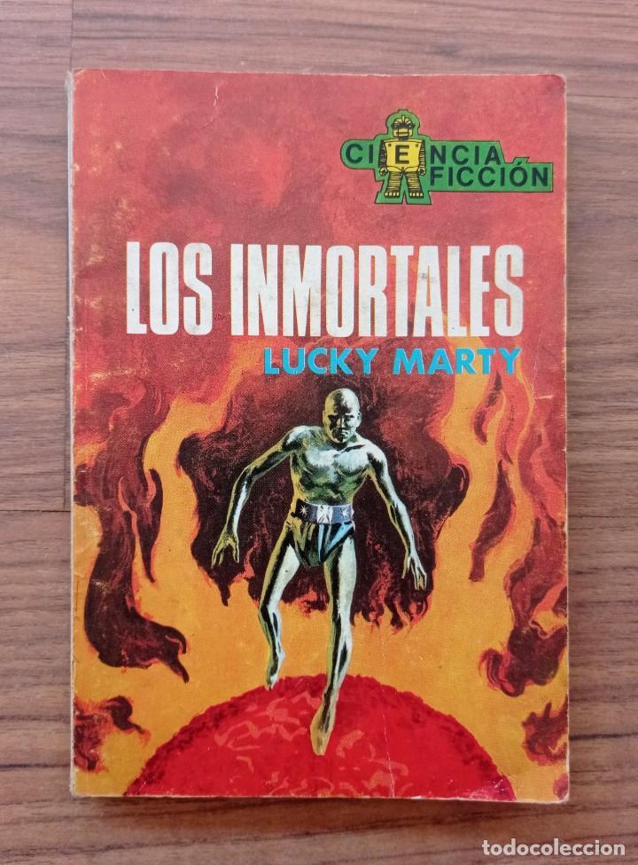 EDICIONES TORAY CIENCIA-FICCION Nº 61-LOS INMORTALES (LUCHY MARTY) NOVELAS-BOLSILIBROS-PULP (Tebeos, Comics y Pulp - Pulp)