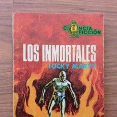 Cómics: EDICIONES TORAY CIENCIA-FICCION Nº 61-LOS INMORTALES (LUCHY MARTY) NOVELAS-BOLSILIBROS-PULP. Lote 284484053