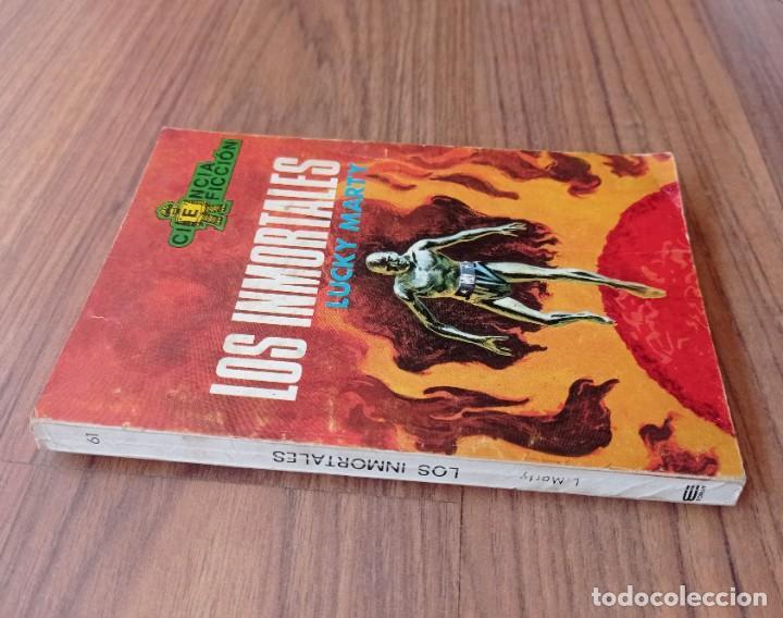 Cómics: EDICIONES TORAY CIENCIA-FICCION Nº 61-LOS INMORTALES (LUCHY MARTY) NOVELAS-BOLSILIBROS-PULP - Foto 2 - 284484053