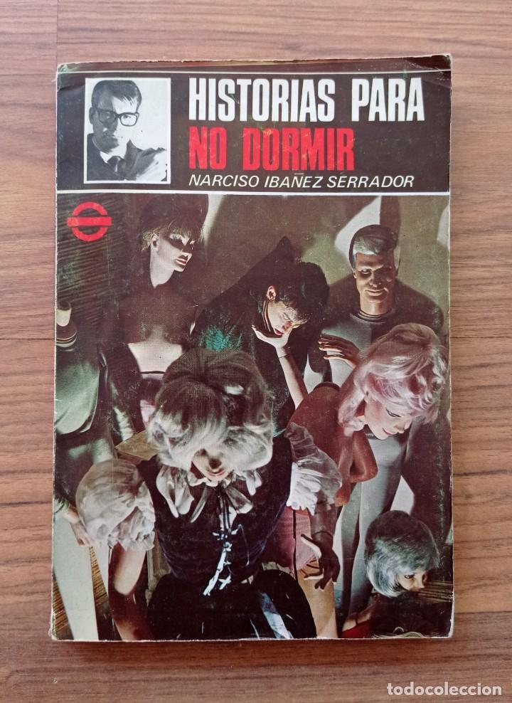 NOVELA COLECCION TERROR HISTORIAS PARA NO DORMIR (NARCISO IBAÑEZ SERRADOR) (Tebeos, Comics y Pulp - Pulp)