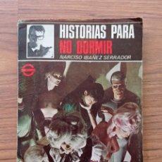 Cómics: NOVELA COLECCION TERROR HISTORIAS PARA NO DORMIR (NARCISO IBAÑEZ SERRADOR). Lote 284484468