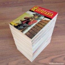 Cómics: EDICIONES BRAINS OESTE COLECCION BRONCO OESTE LOTE 29 NOVELAS-BOLSILIBROS-PULP. Lote 284493693