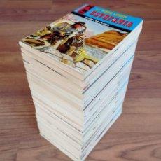 Cómics: EDICIONES BRAINS OESTE COLECCION JINETE LOTE 36 NOVELAS-BOLSILIBROS-PULP. Lote 284497028