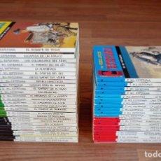Cómics: EDICIONES BRAINS OESTE VARIAS COLECCIONES LOTE 48 NOVELAS-BOLSILIBROS-PULP. Lote 284497388
