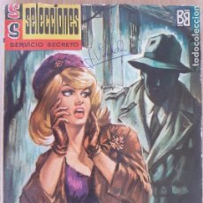 Cómics: SELECCIONES SERVICIO SECRETO Nº 61. NOCTURNO CON MUERTE. W. CATANZARO. BRUGUERA 1963. Lote 285742878
