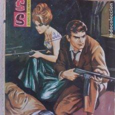 Cómics: SERVICIO SECRETO Nº 667. TUMBA CERRADA. A. ROLCEST. NATALIE WOOD. BRUGUERA 1963. Lote 285743788