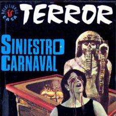 Comics : EDITORIAL EASA (ANDINA); TERROR; SINIESTRO CARNAVAL; Nº 63; MORTIMER CODY.. Lote 286692118