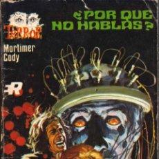 Comics : EDITORIAL ROLLAN; TERROR; ¿POR QUÉ NO HABLAS?; Nº 7; MORTIMER CODY. Lote 286699003
