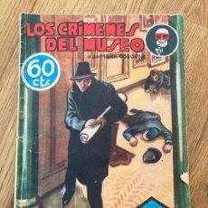 Cómics: ¡¡LIQUIDACION PULP!! PEDIDO MINIMO 5 EUROS - LOS CRIMENES DEL MUSEO / SEXTON BLAKE - HYMSA - GCH. Lote 288453883