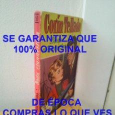 Cómics: CORIN TELLADO BODA CLANDESTINA COLECCION CORAL BRUGUERA 51 1958 U36. Lote 288665738