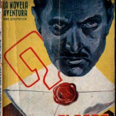 Cómics: FIDEL PRADO : EL ROBO DEL TRATADO SECRETO (NOVELA AVENTURA HYMSA, 1940). Lote 288671783