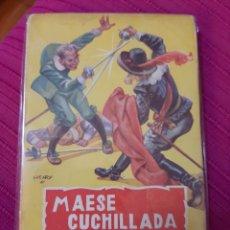 Cómics: MAESE CUCHILLADA CON CAPA ROJA COLECCIÓN ESPADACHÍN NUM 2. Lote 293934593