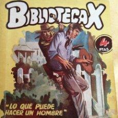 Cómics: LO QUE PUEDE HACER UN HOMBRE - FIDEL PRADO, BIBLIOTECA X 88. Lote 294030948