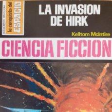 Cómics: LA CONQUISTA DEL ESPACIO Nº 279.LA INVASIÓN DE HIRK. KELLTOM MCINTIRE. BRUGUERA. MUY BUENO. Lote 294071298