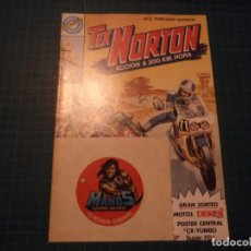 Cómics: TEX NORTON. N°2. BRUGUERA. LLEVA LOS CROMOS. (S-D). Lote 294980413