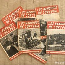 Cómics: LOS BANDIDOS DE CÓRCEGA, 14 NÚMEROS, AÑOS 40/50, (VECCHI).. Lote 295379588