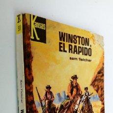 Cómics: OESTE KANSAS Nº 501 - SAM FLETCHER - WINSTON, EL R´APIDO - 1968 BRUGUERA. Lote 295732798