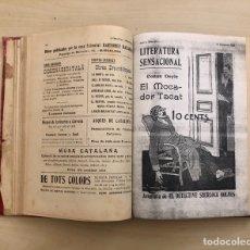 Cómics: AVENTURA DEL DETECTIVE SHERLOCK HOLMES, 29 EJEMPLARES, AÑO 1908, (LITERATURA SENSACIONAL).. Lote 295746688