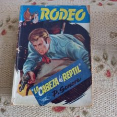 Cómics: P. SONORA: LA CABEZA DEL REPTIL. COL. RODEO Nº 101. Lote 295806938