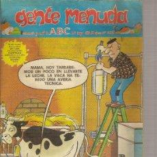 Cómics: SUPLEMENTO DE ABC DOMINICAL 'GENTE MENUDA', Nº 435. 24 DE MAYO DE 1998. ZIPI Y ZAPE EN PORTADA.. Lote 5243288