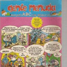 Cómics: SUPLEMENTO DE ABC DOMINICAL 'GENTE MENUDA', Nº 434. 17 DE MAYO DE 1998. ROMPETECHOS EN PORTADA.. Lote 5243302
