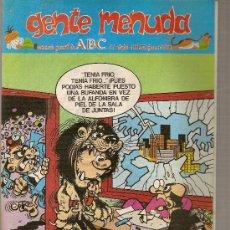 Cómics: SUPLEMENTO DE ABC 'GENTE MENUDA', Nº 358. 27 DE OCTUBRE DE 1996. EL BOTONES SACARINO EN PORTADA.. Lote 5243337
