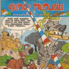Cómics: SUPLEMENTO DE ABC 'GENTE MENUDA', Nº 257. 16 DE OCTUBRE DE 1994. MORTADELO Y FILEMÓN EN PORTADA.. Lote 5243534