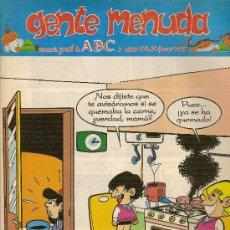 Cómics: SUPLEMENTO DE ABC DOMINICAL 'GENTE MENUDA', Nº 255. 2 DE OCTUBRE DE 1994. ZIPI Y ZAPE EN PORTADA.. Lote 5243547