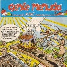 Cómics: SUPLEMENTO DE ABC 'GENTE MENUDA', Nº 146. 30 DE AGOSTO DE 1992. MORTADELO Y FILEMÓN EN PORTADA.. Lote 5243643