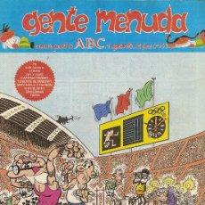 Cómics: SUPLEMENTO DE ABC 'GENTE MENUDA', Nº 143. 19 DE AGOSTO DE 1992. MORTADELO Y FILEMÓN EN PORTADA.. Lote 5243661