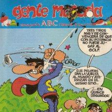 Cómics: SUPLEMENTO DE ABC DOMINICAL 'GENTE MENUDA', Nº 117. 9 DE FEBRERO DE 1992. SUPERLÓPEZ EN PORTADA.. Lote 5243703