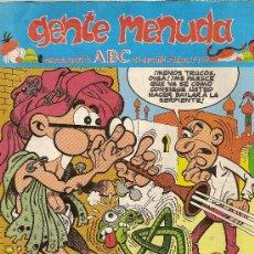 Cómics: SUPLEMENTO DE ABC 'GENTE MENUDA', Nº 115. 26 DE ENERO DE 1992. MORTADELO Y FILEMÓN EN PORTADA.. Lote 5243718