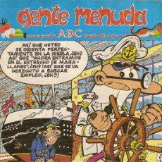 Cómics: SUPLEMENTO DE ABC 'GENTE MENUDA', Nº 105. 17 DE NOVIEMBRE DE 1991. MORTADELO Y FILEMÓN EN PORTADA.. Lote 5243770