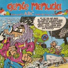 Cómics: SUPLEMENTO DE ABC 'GENTE MENUDA', Nº 103. 3 DE NOVIEMBRE DE 1991. MORTADELO Y FILEMÓN EN PORTADA.. Lote 5243799
