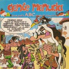Cómics: SUPLEMENTO DE ABC 'GENTE MENUDA', Nº 102. 27 DE OCUBRE DE 1991. MORTADELO Y FILEMÓN EN PORTADA.. Lote 5243803