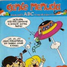 Cómics: SUPLEMENTO DE ABC DOMINICAL 'GENTE MENUDA', Nº 71. 24 DE MARZO DE 1991. ZIPI Y ZAPE EN PORTADA.. Lote 5243808