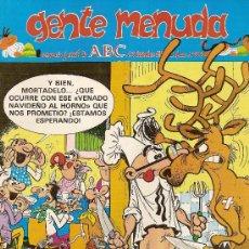 Cómics: SUPLEMENTO DE ABC 'GENTE MENUDA', Nº 58. 27 DE DICIEMBRE DE 1990. MORTADELO Y FILEMÓN EN PORTADA.. Lote 5243816