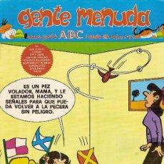 Cómics: SUPLEMENTO DE ABC DOMINICAL 'GENTE MENUDA', Nº 56. 9 DE DICIEMBRE DE 1990. ZIPI Y ZAPE EN PORTADA.. Lote 5243820