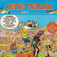 Cómics: SUPLEMENTO DE ABC 'GENTE MENUDA', Nº 55. 2 DE DICIEMBRE DE 1990. MORTADELO Y FILEMÓN EN PORTADA.. Lote 5243823