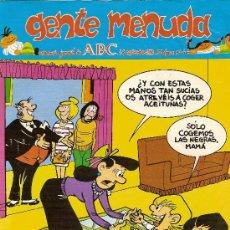 Cómics: SUPLEMENTO DE ABC DOMINICAL 'GENTE MENUDA', Nº 44. 16 DE SEPTIEMBRE DE 1990. ZIPI Y ZAPE EN PORTADA.. Lote 5243854
