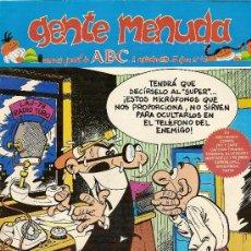 Cómics: SUPLEMENTO DE ABC 'GENTE MENUDA', Nº 42. 2 DE SEPTIEMBRE DE 1990. MORTADELO Y FILEMÓN EN PORTADA.. Lote 5243875