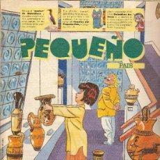Cómics: SUPLEMENTO DOMINICAL 'PEQUEÑO PAÍS', Nº 671. 9 DE OCTUBRE DE 1994.. Lote 5244311