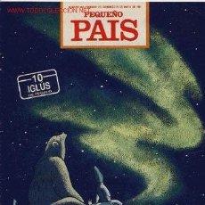 Cómics: SUPLEMENTO DOMINICAL 'PEQUEÑO PAÍS', Nº 495. 26 DE MAYO DE 1991.. Lote 5244373