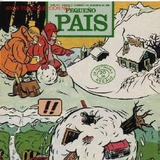 Cómics: SUPLEMENTO DOMINICAL 'PEQUEÑO PAÍS', Nº 471. 8 DE DICIEMBRE DE 1990.. Lote 5244381