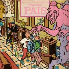 Cómics: SUPLEMENTO DOMINICAL 'PEQUEÑO PAÍS', Nº 457. 1 DE SEPTIEMBRE DE 1990.. Lote 5244531