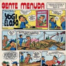 Cómics: GENTE MENUDA Nº62 (SUPLEMENTO ABC) PÓSTER DE TITO (C. DELGADO), MÁGICA AVEN, FLASH GORDO. Lote 10101274