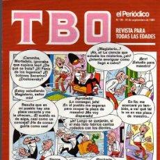 Cómics: TBO - EL PERIODICO Nº 90 . Lote 33294767