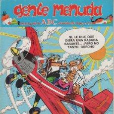 Cómics: SUPLEMENTO DE ABC 'GENTE MENUDA', Nº 54. 25 DE NOVIEMBRE DE 1990. MORTADELO Y FILEMÓN EN PORTADA.. Lote 5243825